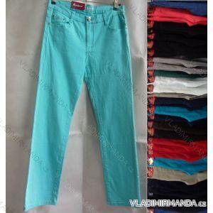 Kalhoty plátěné tenké letní dámské (30-42) SUNBIRD SX5906N