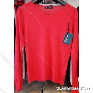 Svetr pulovr jarní tenký dámský (m-2xl) B.LIFE 88-1