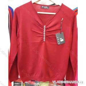 Svetr pulovr jarní tenký dámský (m-2xl) B.LIFE 8907