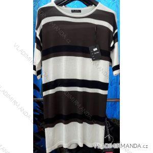 Svetr pulovr jarní tenký kr. rukáv dámský (m-2xl) B.LIFE 80B