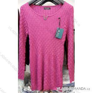 Svetr pulovr jarní tenký  dámský (m-2xl) B.LIFE 8905