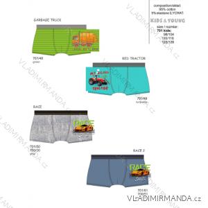 Boxerky dětské chlapecké (98-128) CORNETTE 701