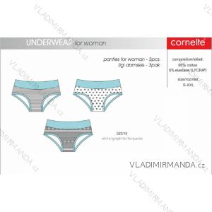 Kalhotky (3ks v balení) dámské (s-xxl) CORNETTE 023/15