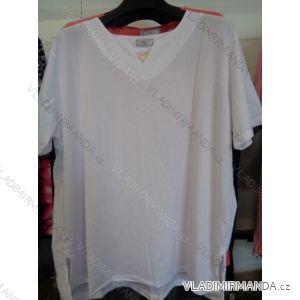 Tričko krátké nadrozměrné dámské (xl-4xl) HUAGE HG1685