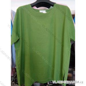 Tričko krátké nadrozměrné dámské (xl-4xl) HUAGE HG1689
