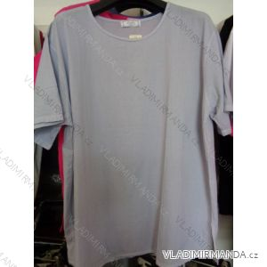 Tričko krátké nadrozměrné dámské (xl-4xl) HUAGE HG1688-1