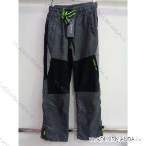 Kalhoty bavlněné outdoor dětské a dorost chlapecké (116-146) GRACE GRA1970578