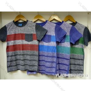 Tričko krátký rukáv dětské a dorost chlapecké (128-164) VOGUE IN 77306
