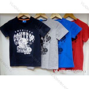 Tričko krátký rukáv dětské a dorost chlapecké (128-164) VOGUE IN 75206