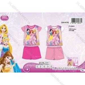 Pyžamo krátký rukáv a nohavice kojenecké dětské dívčí (92-116) PRINCEZNY SETINO 830-678