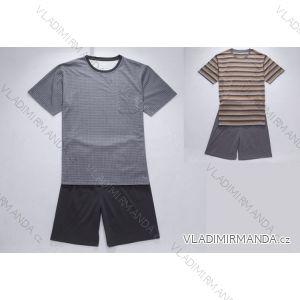 Pyžamo krátké komplet letní pánský bavlněný  (m-2xl) WOLF S2775/A