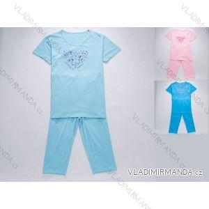 Pyžamo krátké dámské bavlněné (m-2xl) WOLF D2442