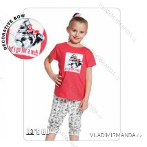 Pyžamo 3/4 dětské dívčí (86-128) CORNETTE 080/54