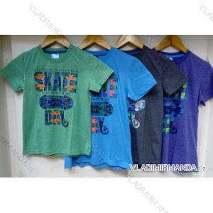 Tričko krátký rukáv dětské a dorost chlapecké (128-164) VOGUE IN 77305