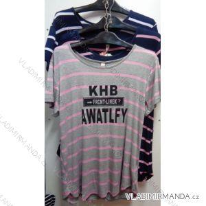 Tričko krátký rukáv dámské (m-2xl) GUAN DA YUAN NA-96919