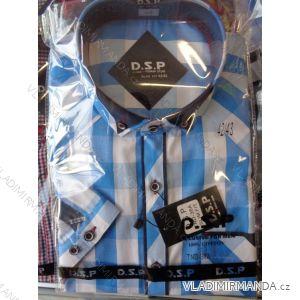 Košile dlouhý rukáv pánská bavlněná (36/37-53/54) D.S.P. TND-36A