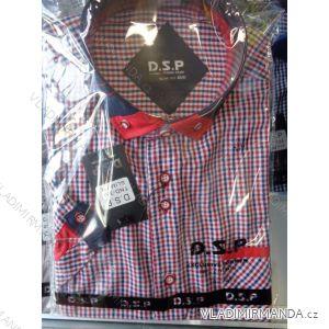Košile dlouhý rukáv pánská bavlněná (36/37-53/54) D.S.P. TND-33A