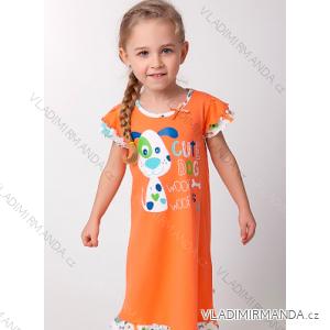 Košile noční krátký rukáv dětská dívčí (100-120) CALVI-COONOOR 17-324