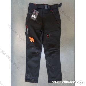 Kalhoty outdoor softshell jarní tenké dětské dorost (116-164) NEVEREST F-7102C