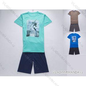 Pyžamo krátké komplet dorost chlapecký (134-164) WOLF S2764