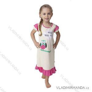 Košile noční krátký rukáv dětská dívčí (110-130) CALVI-COONOOR 17-326