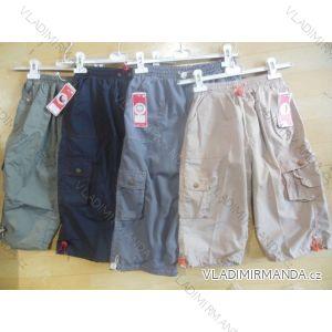 Kalhoty 3/4 dětské a dorost chlapecké (128-158) SUCESS CF6741