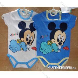 Body krátký rukáv mickey mouse kojenecké chlapecké (68-86) CACTUS CLONE 61019