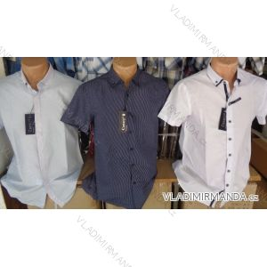 Košile krátký rukáv pánská (m-4xl) CANARY BOYS COLLECTION CANARY-01