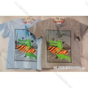 Tričko krátký rukáv kojenecké chlapecké (68-98) AQUAMARINE 9222