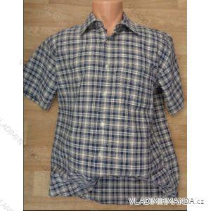 Košile krátký rukáv pánská (m-4xl) CANARY BOYS COLLECTION CANARY-03