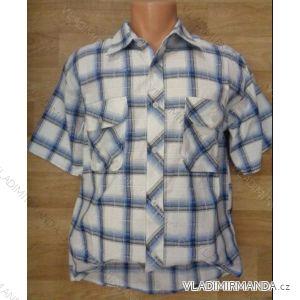 Košile krátký rukáv pánská (m-4xl) CANARY BOYS COLLECTION CANARY-04