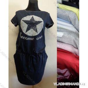 Šaty tunika dlouhá dámské (uni s-l) SWEETISSIMA IMC1711780-5/3