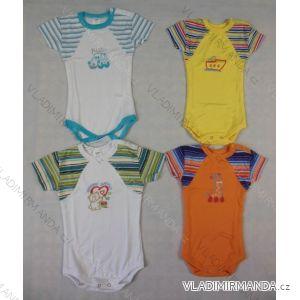 Body krátký rukáv kojenecké dívčí a chlapecké (56-86) QUEEN RUDA