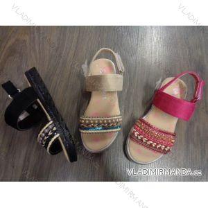 Sandále letní dětské dívčí (25-30) OBUV WO17301-39B