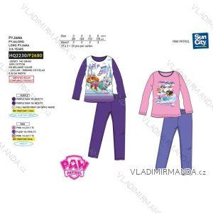 Pyžamo dlouhé paw patrol dětské dívčí (3-6 let) SUN CITY HQ2230