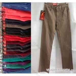Kalhoty plátěné teplejší hrubé dámské podzimní (30-38) SUNBIRD SUN18SX7882