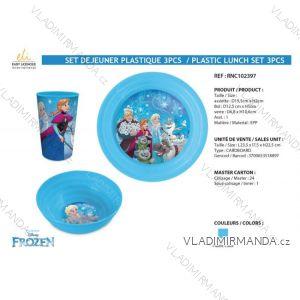 Jídelní set frozen dětský dívčí (3 díly) SUN CITY RNC102397