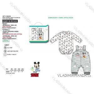Set body dlouhý rukáv, tepláky s laclem mickey mouse kojenecké chlapecké (6-24 měsíců) SUN CITY HQ0018