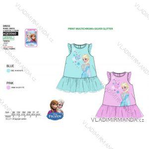 Šaty frozen kojenecké dětské dívčí bavlněné ( 6 měsíců-4 roky) SUN CITY AQE0060