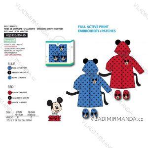 Župan mickey mouse kojenecký chlapecký (9-24 měsíců) SUN CITY HQ0330