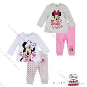 Tričko dlouhý rukáv a legíny minnie mouse kojenecké dívčí (3-24měsíců) TV MANIA 160854