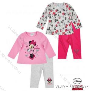 Tričko dlouhý rukáv a legíny minnie mouse kojenecké dívčí (3-24měsíců) TV MANIA 160840