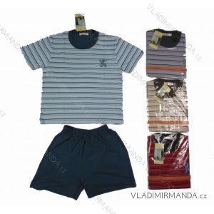 Pyžamo 3 4 krátké dětské chlapecké (98-128) C-LEMON CK0061
