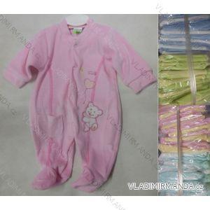 Overal teplý sametový kojenecký dívčí (56-98) ALB AT-1