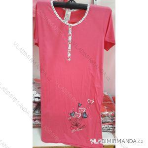 Košile noční krátký rukáv dámská (m-2xl) IRIS FLOWER 23-564