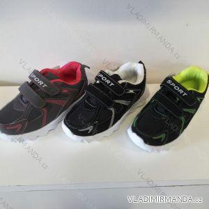 Boty sportovní na suchý zip dětské a dorostenecké chlapecké (30-35) KOKA EL10223
