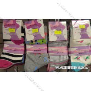 Ponožky slabé dětské dívčí (34-39) LOOKEN 8919