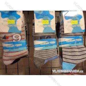 Ponožky slabé dětské chlapecké (34-39) LOOKEN 8823