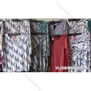 Tričko dlouhý rukáv dámské (m-2xl) WANDENG B-3083-NPL