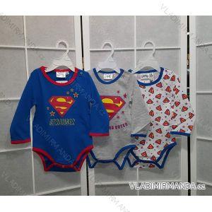 Body dlouhý rukáv superman kojenecké chlapecké (3-24 měsíců) TV MANIA 161164